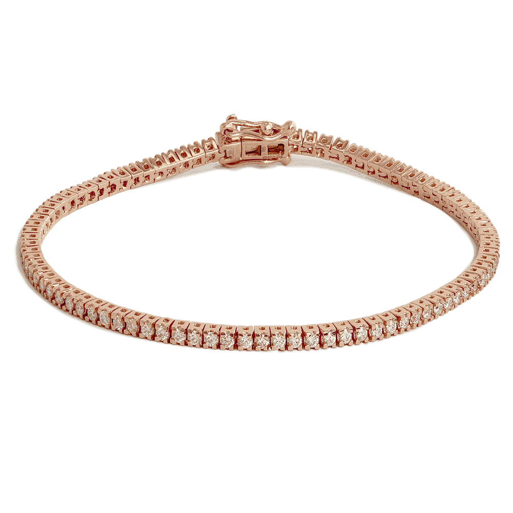 24588 - 18ct Rose Gold Bracelet