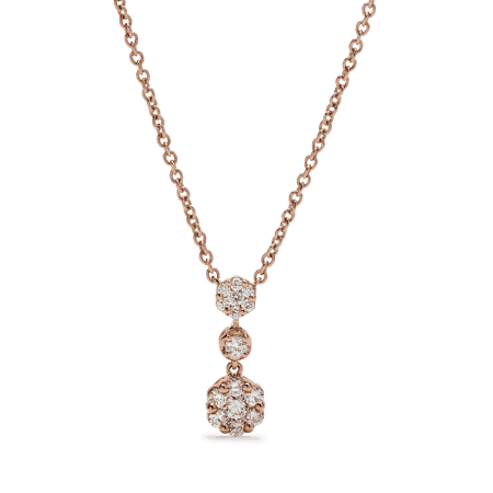 25688 - 18ct Rose Gold Necklace