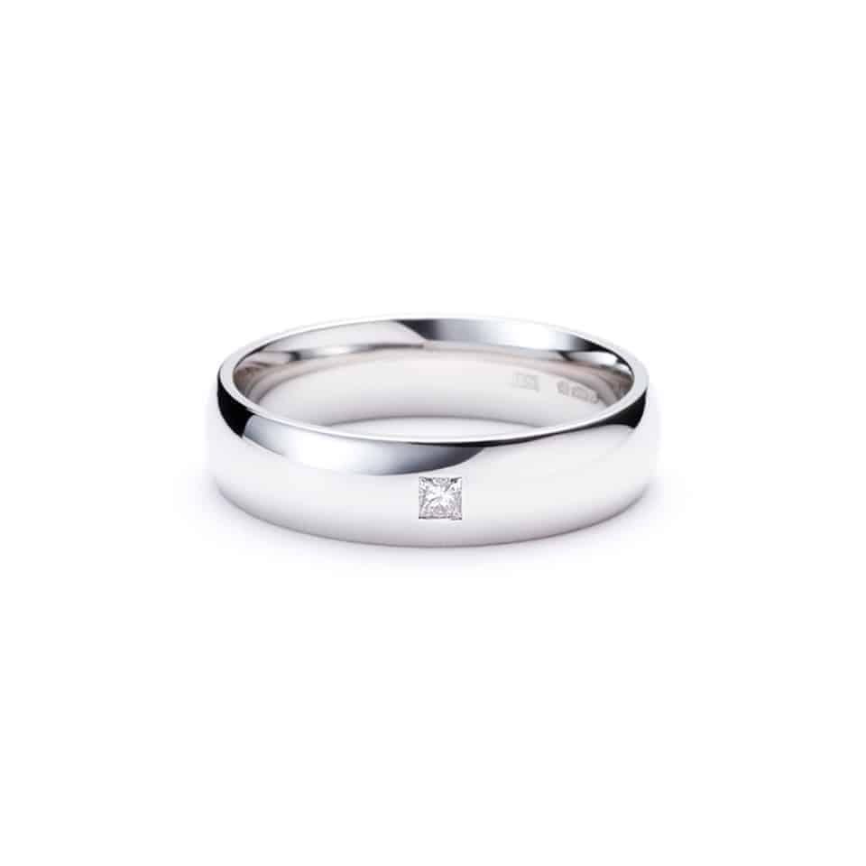 20011000003 - Wedding Ring - Platinum