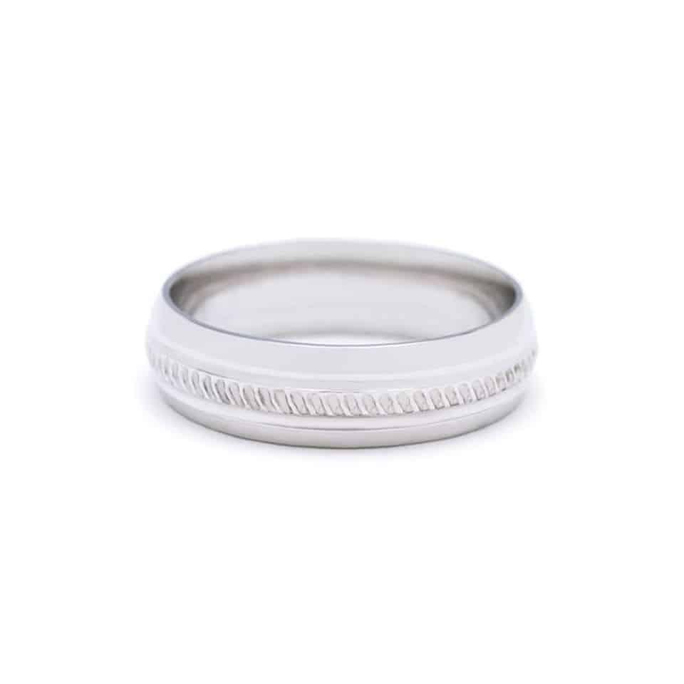201 - Wedding Ring - platinum