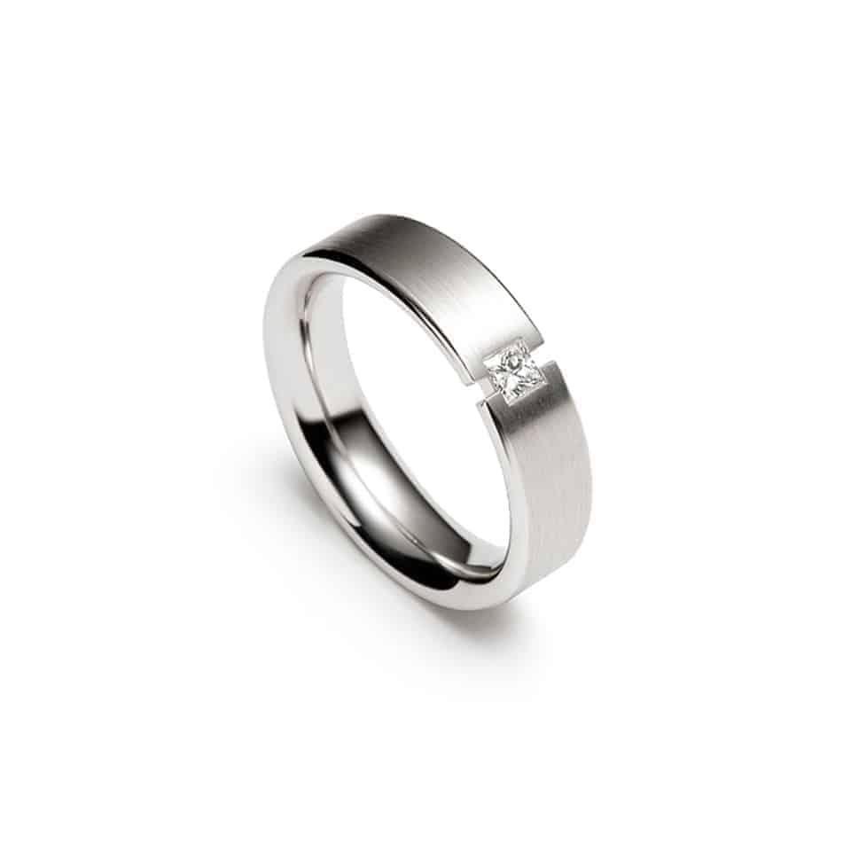 241488-11308 - Cutwork Christian Bauer Diamond Wedding Band Ring