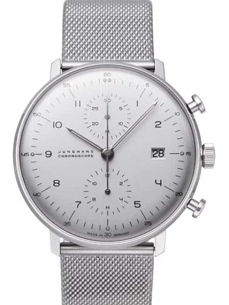 27400344 - Junghans Max Bill Chronoscope Mens Watch