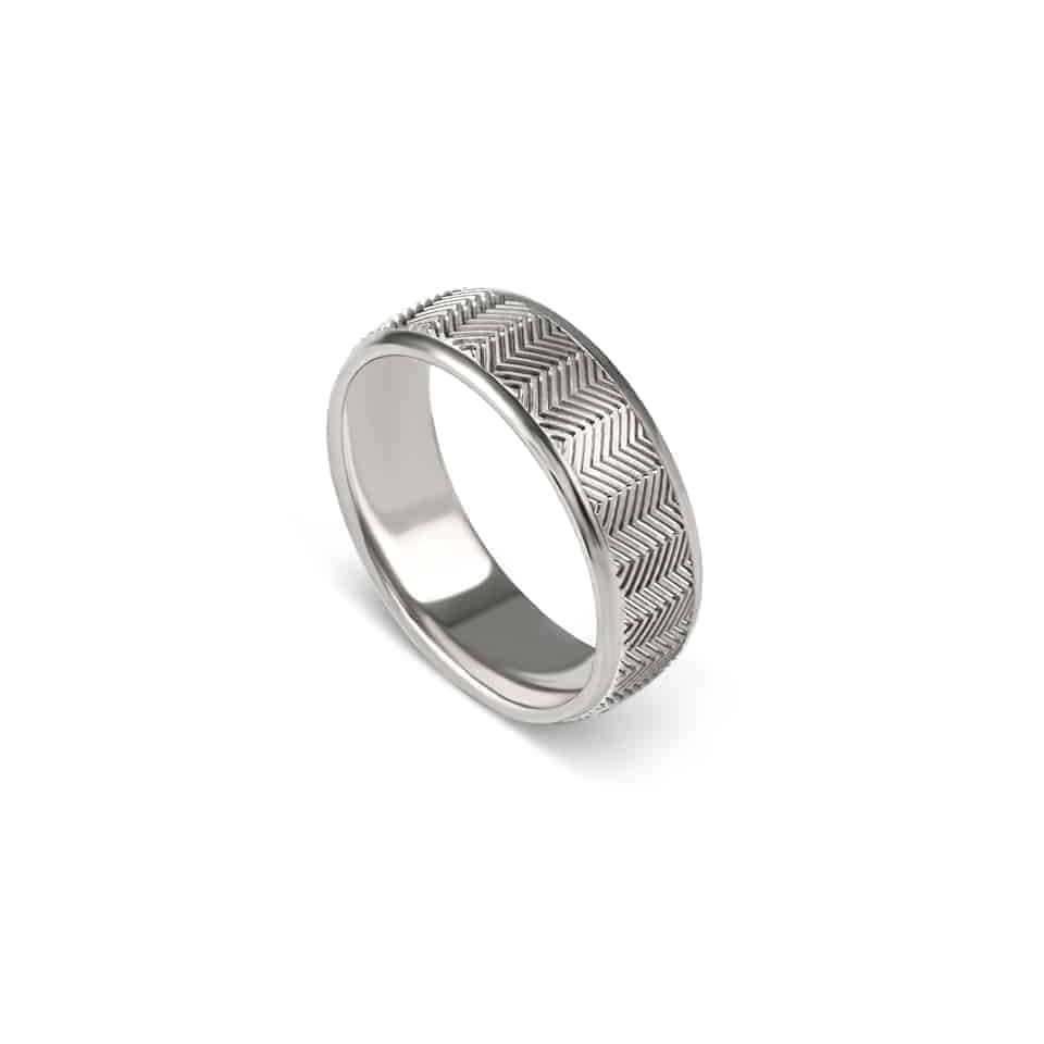 274466_18ct_white_gold - Christian Bauer Wedding Band Ring
