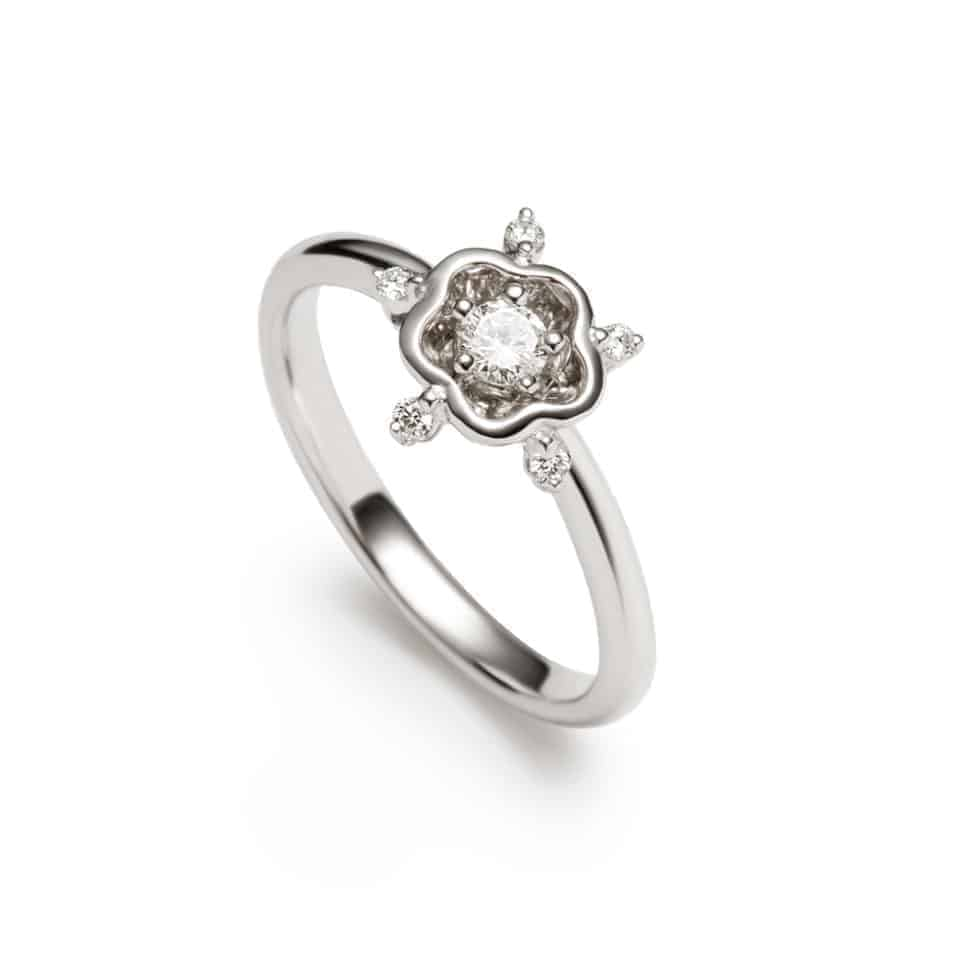 7129 - Rose Diamond Ring