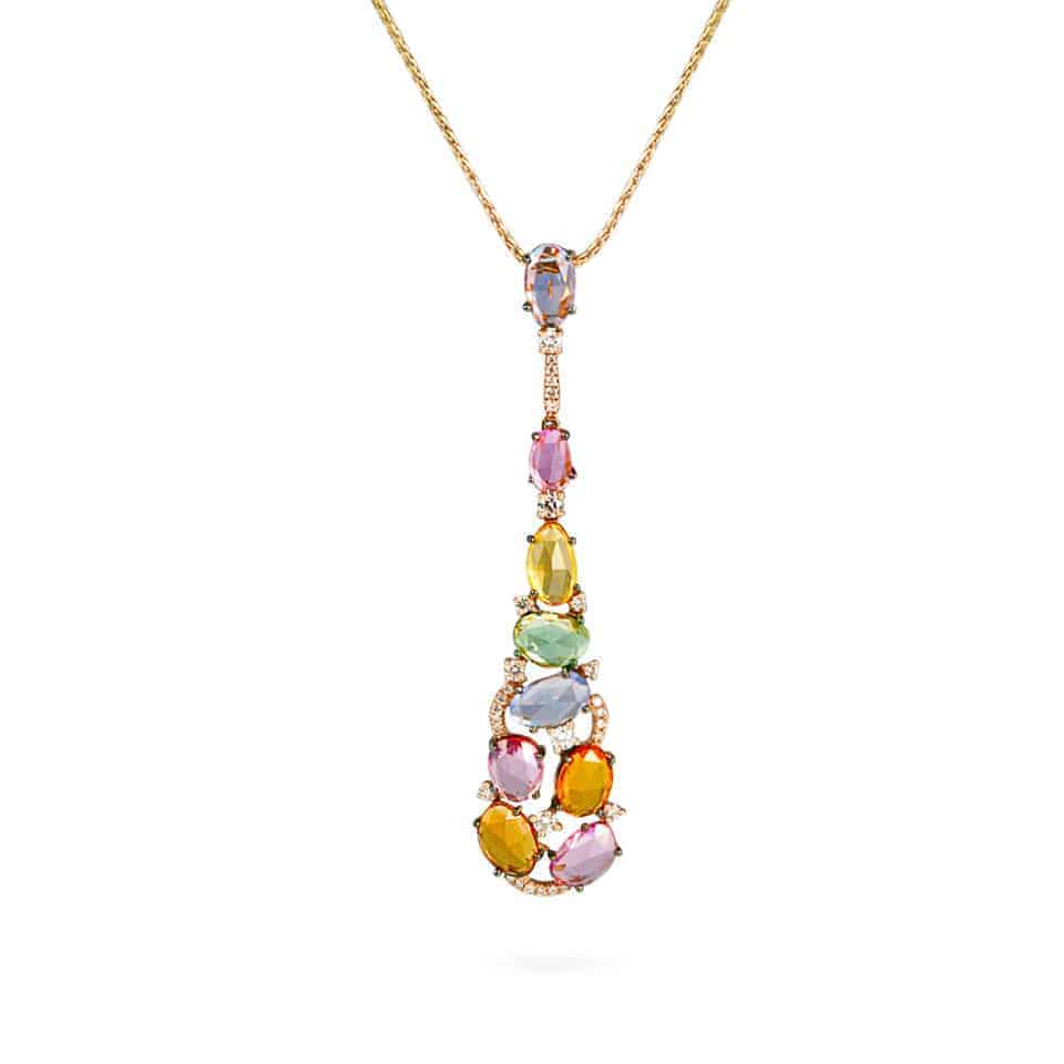20896 - 18ct Gold Cocktail Pendant
