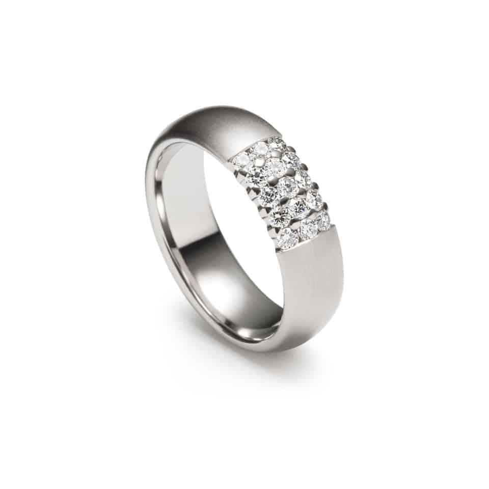 246787-9198 - Matrix Christian Bauer Diamond Wedding Ring 0246787