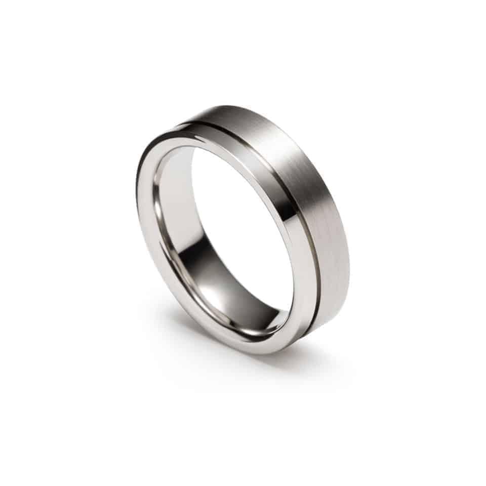 273648-9200N - Christian Bauer Mens Wedding Ring