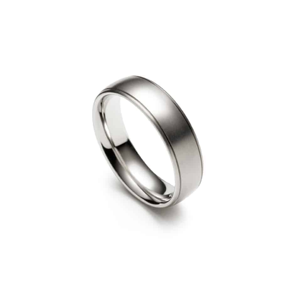273888-9218 - Twin Groove Christian Bauer Wedding Band Ring