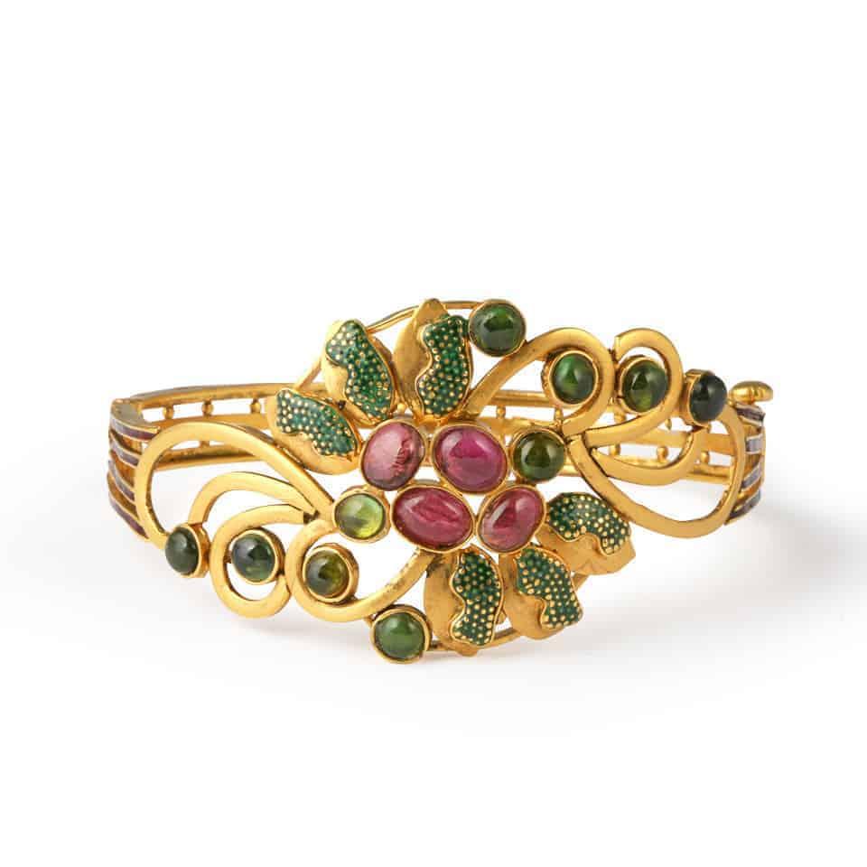 13083 - 22ct Gold Kada Bangle