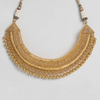 26144 - 22ct Polki Necklace