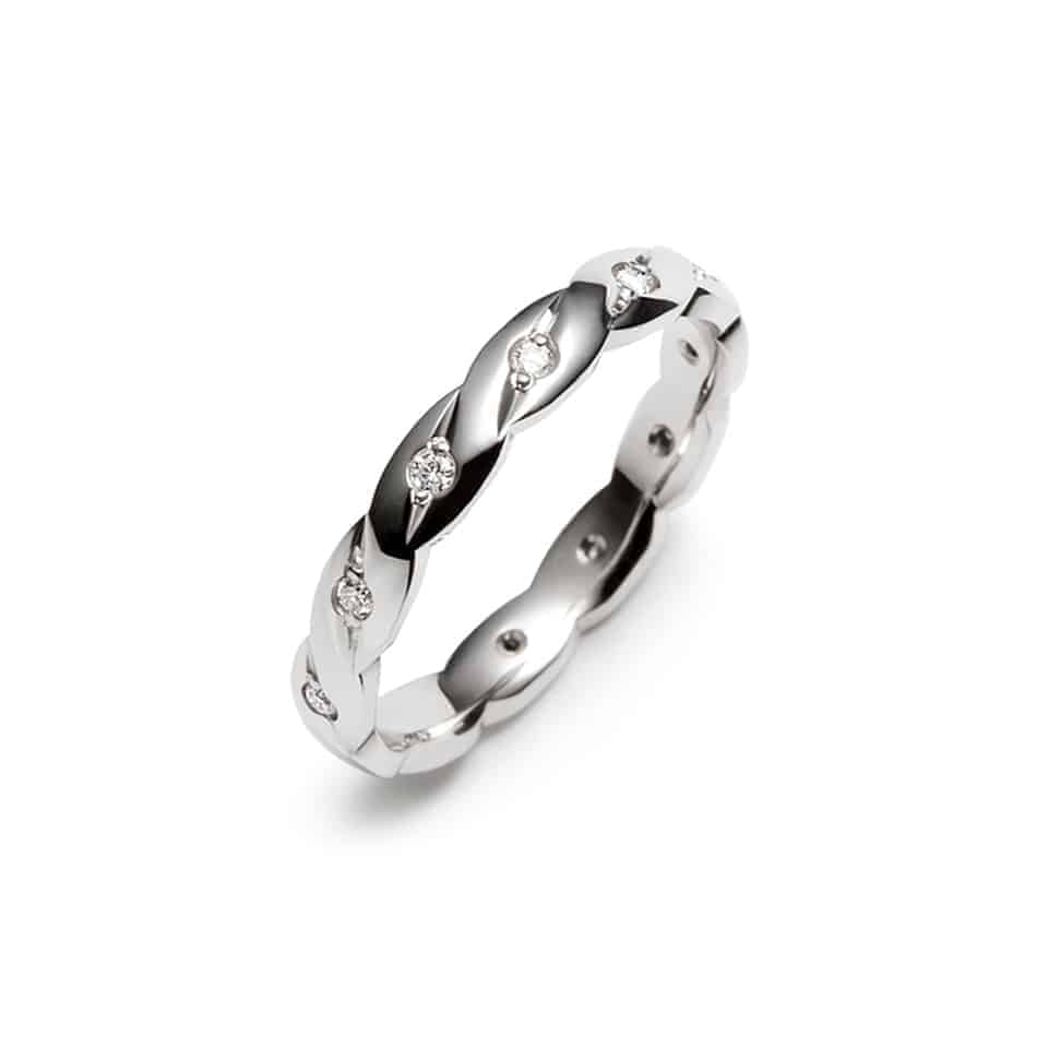 D141_J - Brown & Newirth Diamond Wedding Ring