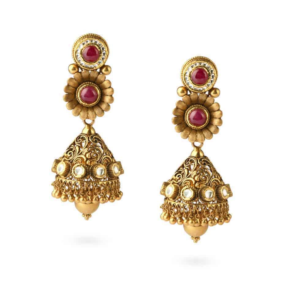 24573 - 22ct Yellow Gold Earrings