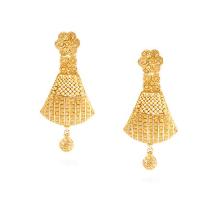 22842 - 22ct Gold Earrings