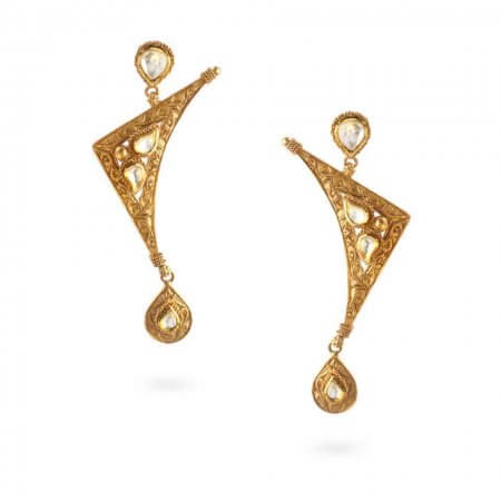 24052 - 22ct Gold Earrings