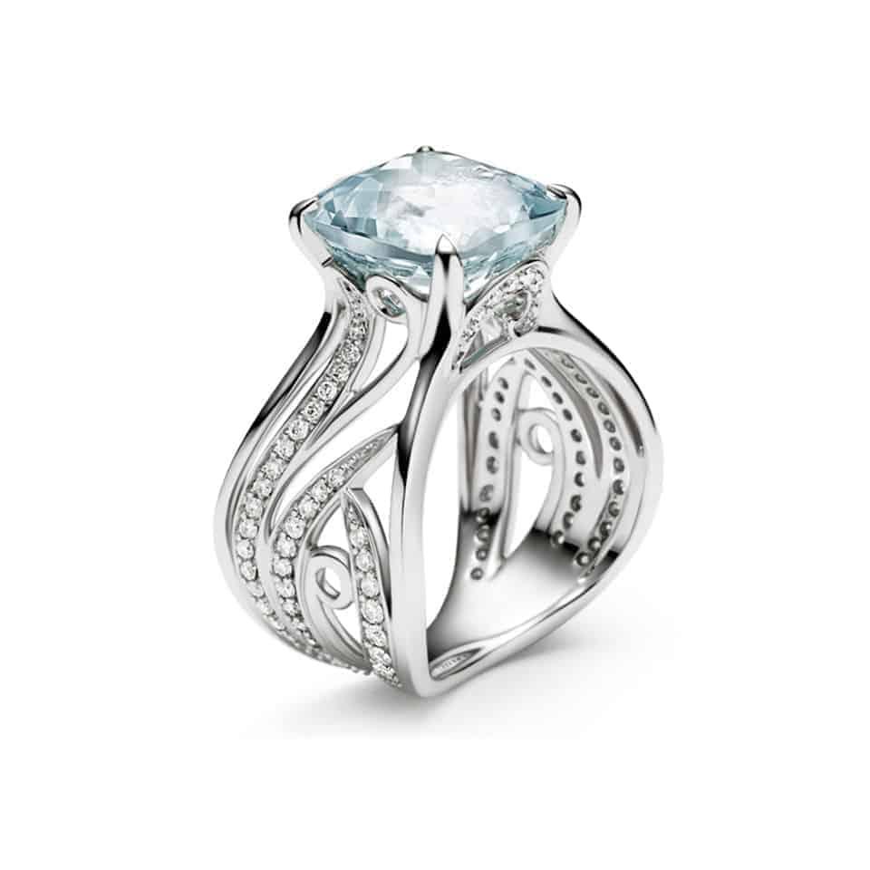 16410 - Floralia Cocktail Ring