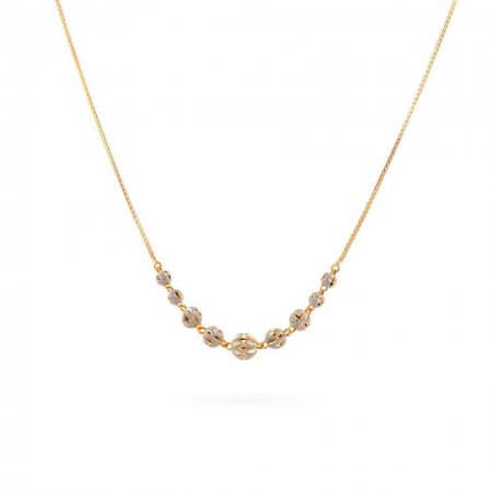 28590 - 22ct Gold Ladies Choker Necklace