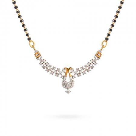 22362 - 22ct Gold Mangalsutra Pendant