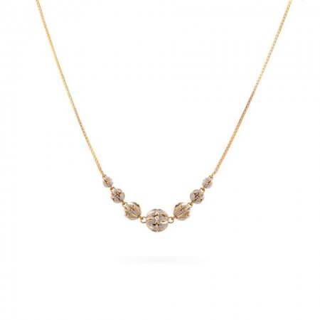 28601 - 22ct Gold Sparkle Necklace