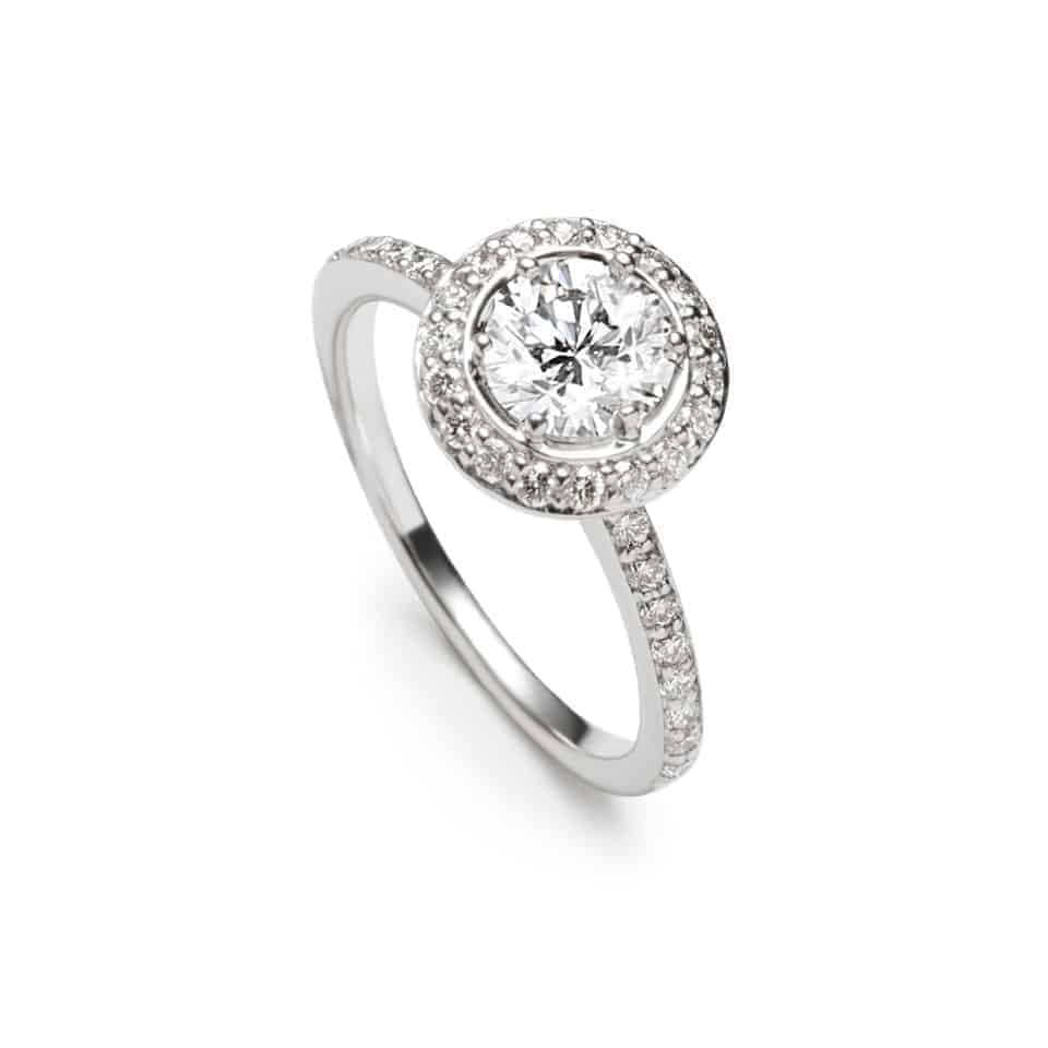 10517 - Regalia Halo Ring