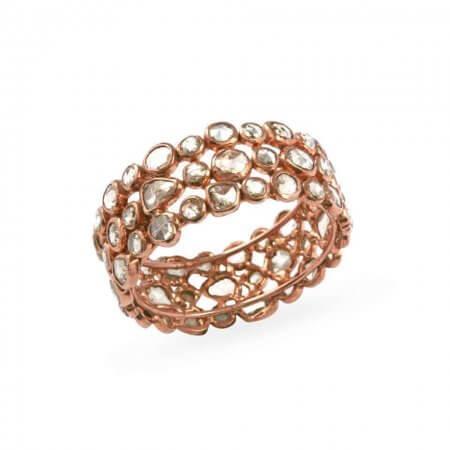 23754 - Diya 18ct Uncut Polki Diamond Ring