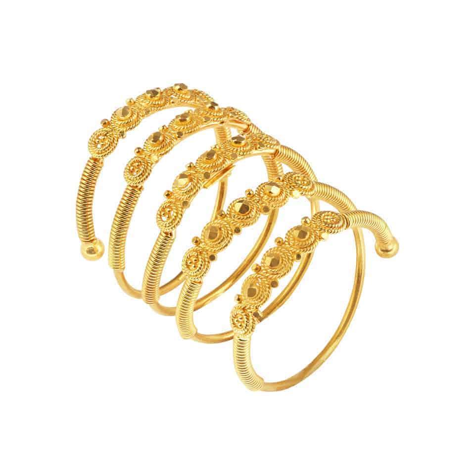 24194 - Jali 22ct Gold Filigree Ring