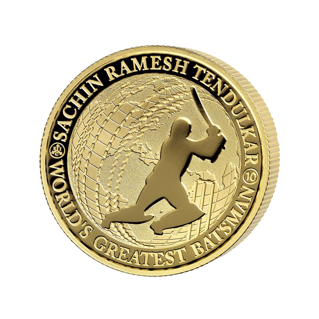 EICST5OZ - Sachin Tendulkar 1oz Gold Coin