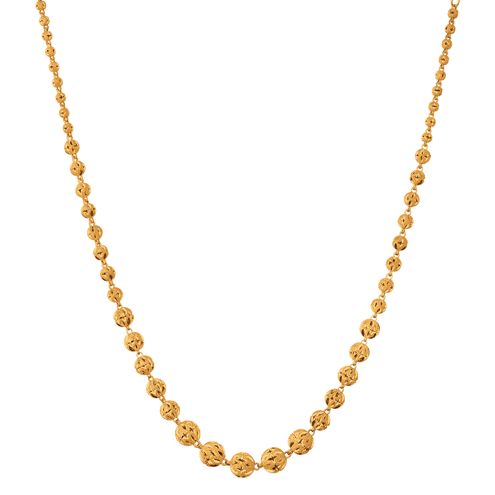 26492 - 22ct SPARKLE Gold Necklace