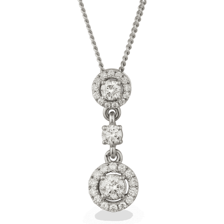 26635 - 18ct Diamond Pendant