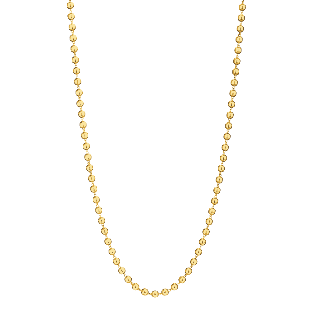 25006 - 22ct Gold Mala Necklace