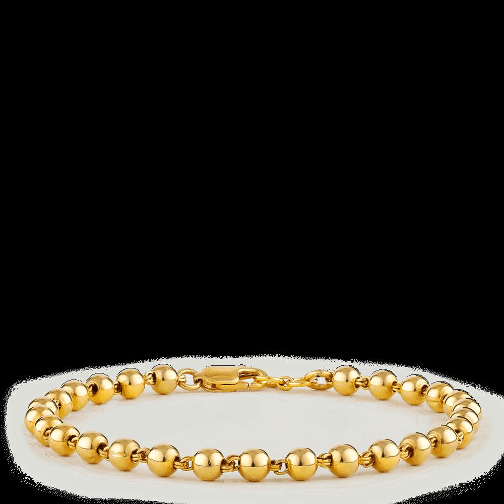 26703 - 22ct Gold Bead Bracelet