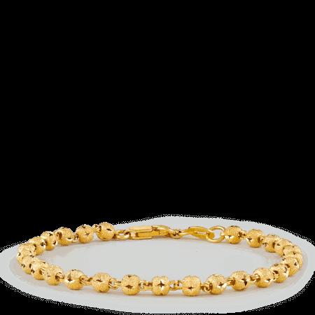 30398 - 22ct Gold Sparkel Bracelet
