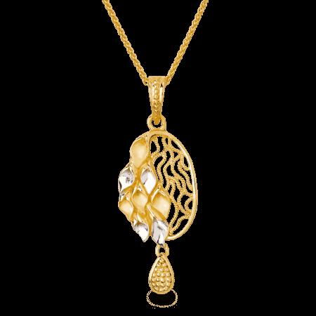 26739 - 22ct Gold Filigree Pendant