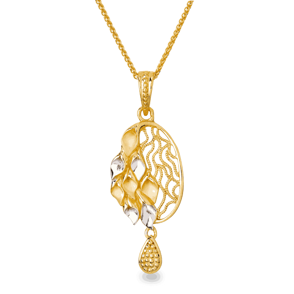 26739, 26598 - 22ct Gold Filigree Pendant