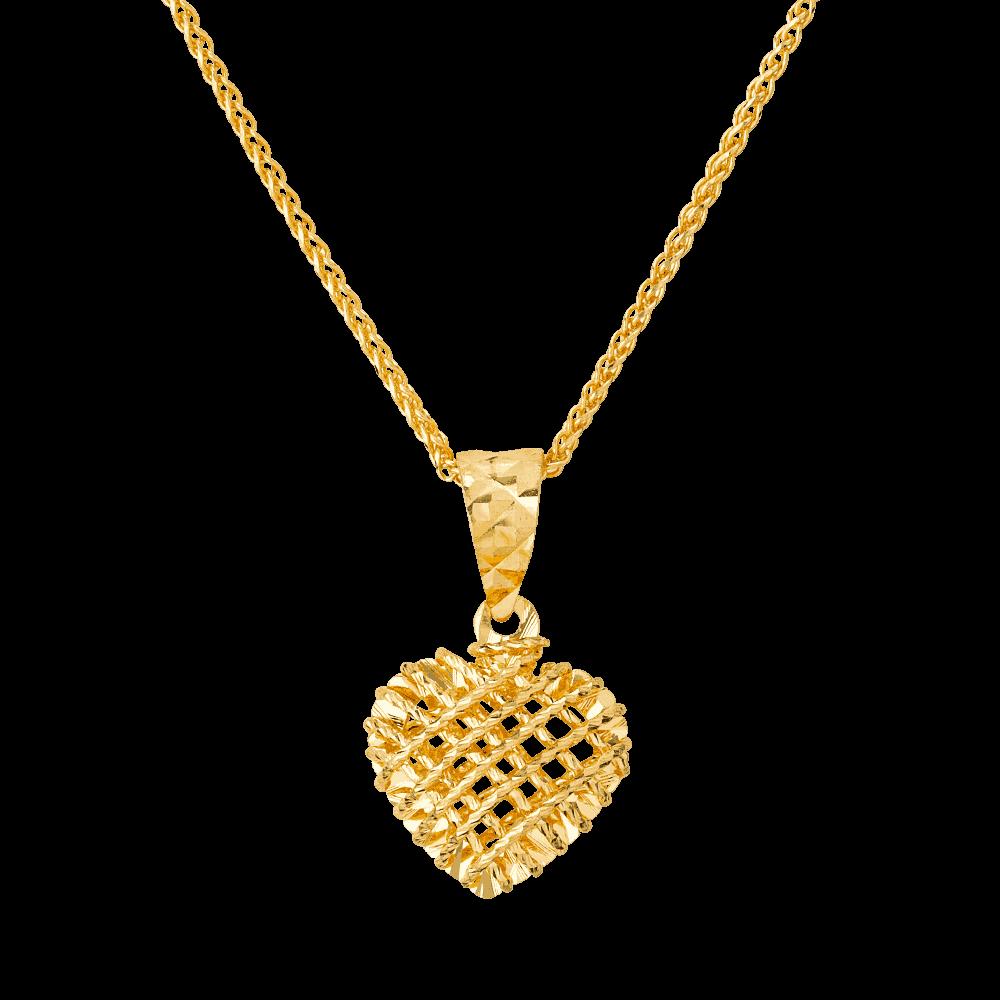 26934 - Polished 18ct Gold Bangle