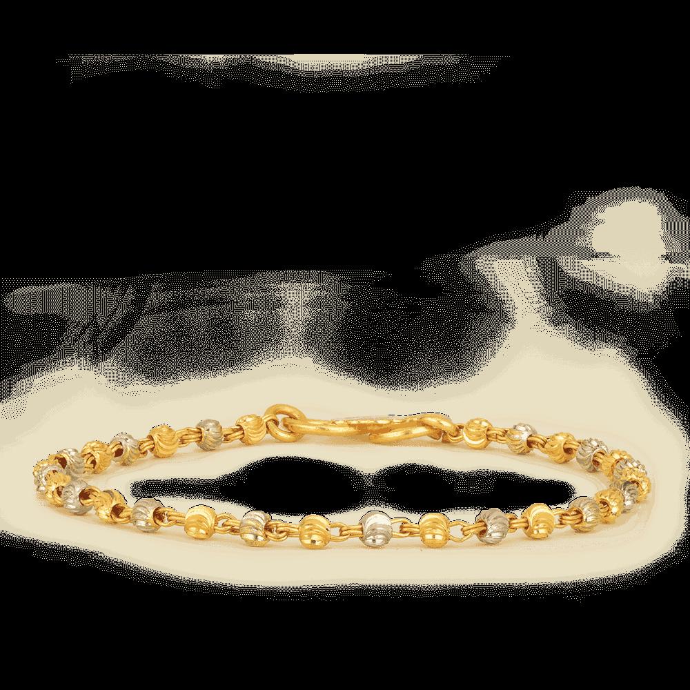 24113 - 22ct Gold Baby Bracelet