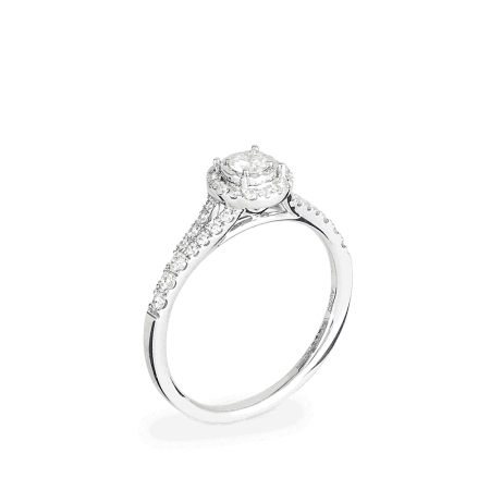 26978 - 18ct Diamond Engagement Ring