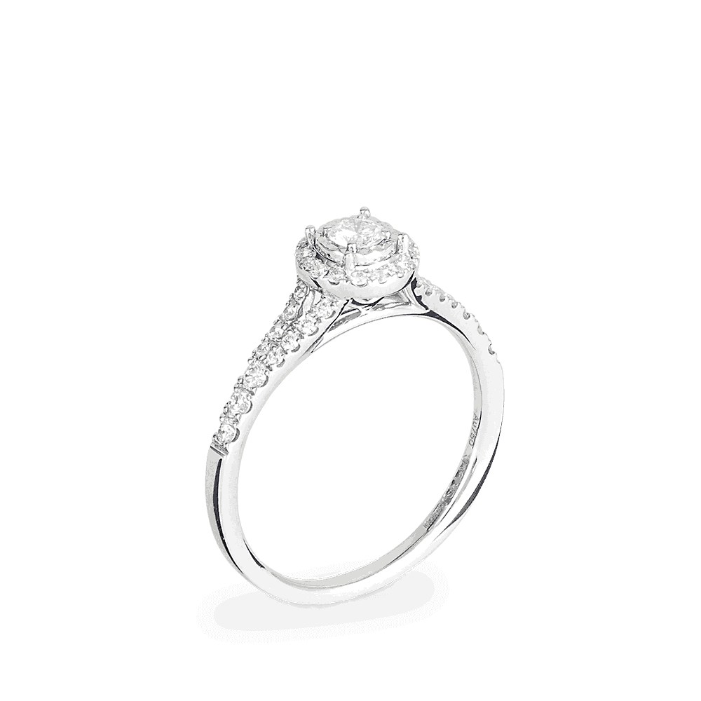 26978 - 18ct Diamond Engagement Ring