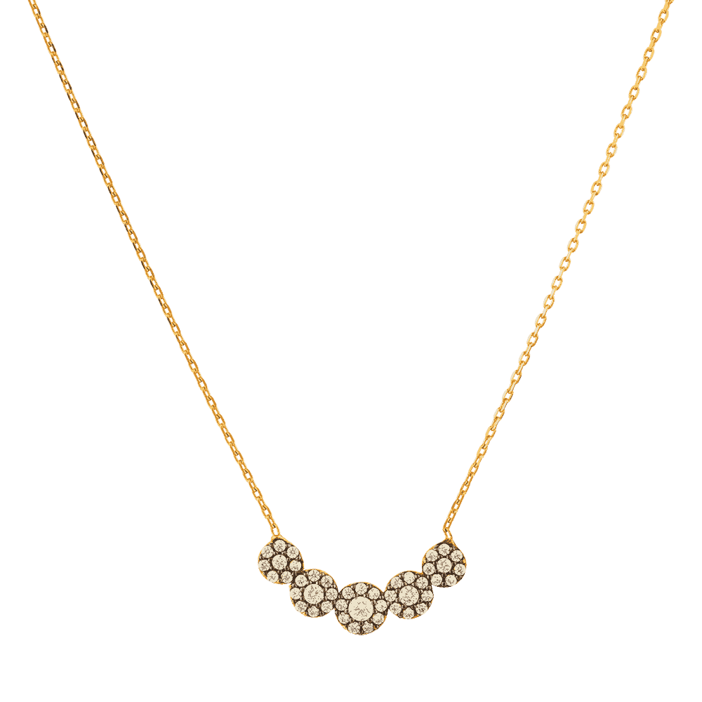 22332 - 22ct Gold Floral Pendant
