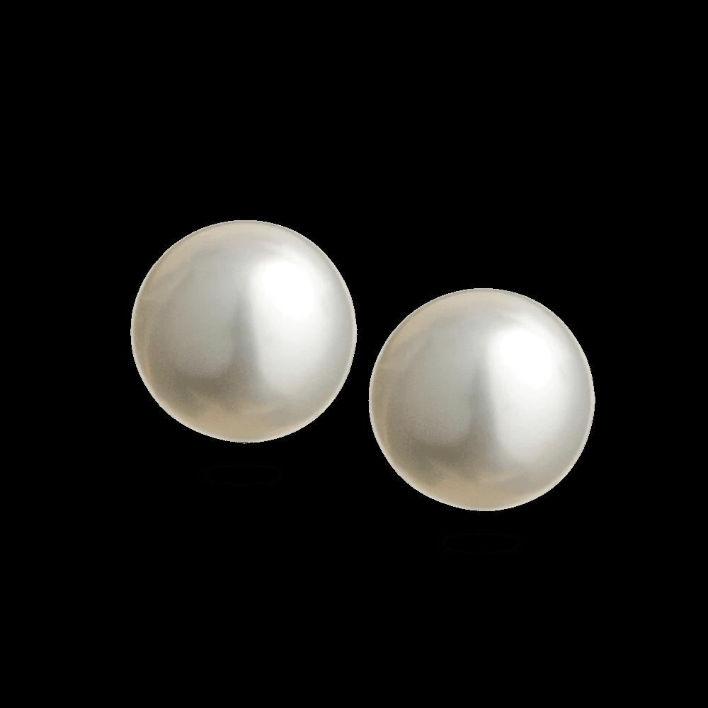 - 18ct Pearl Earstud