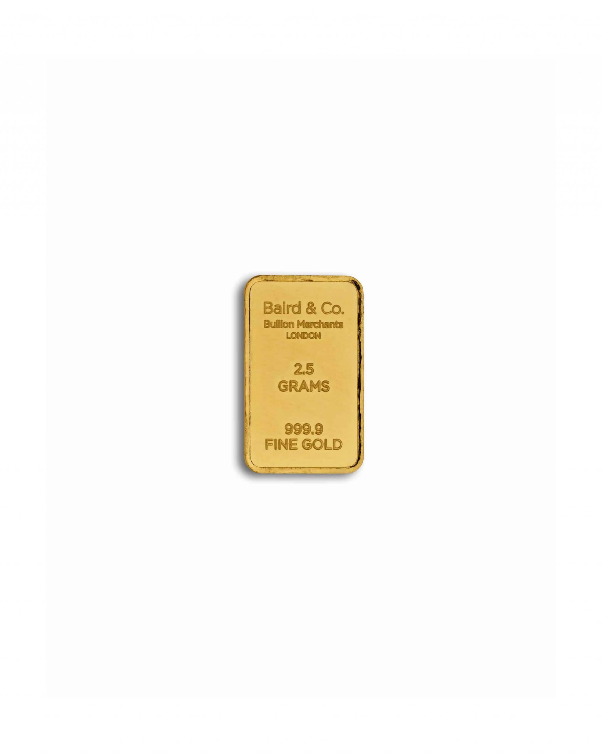 2.5gm Gold Bar
