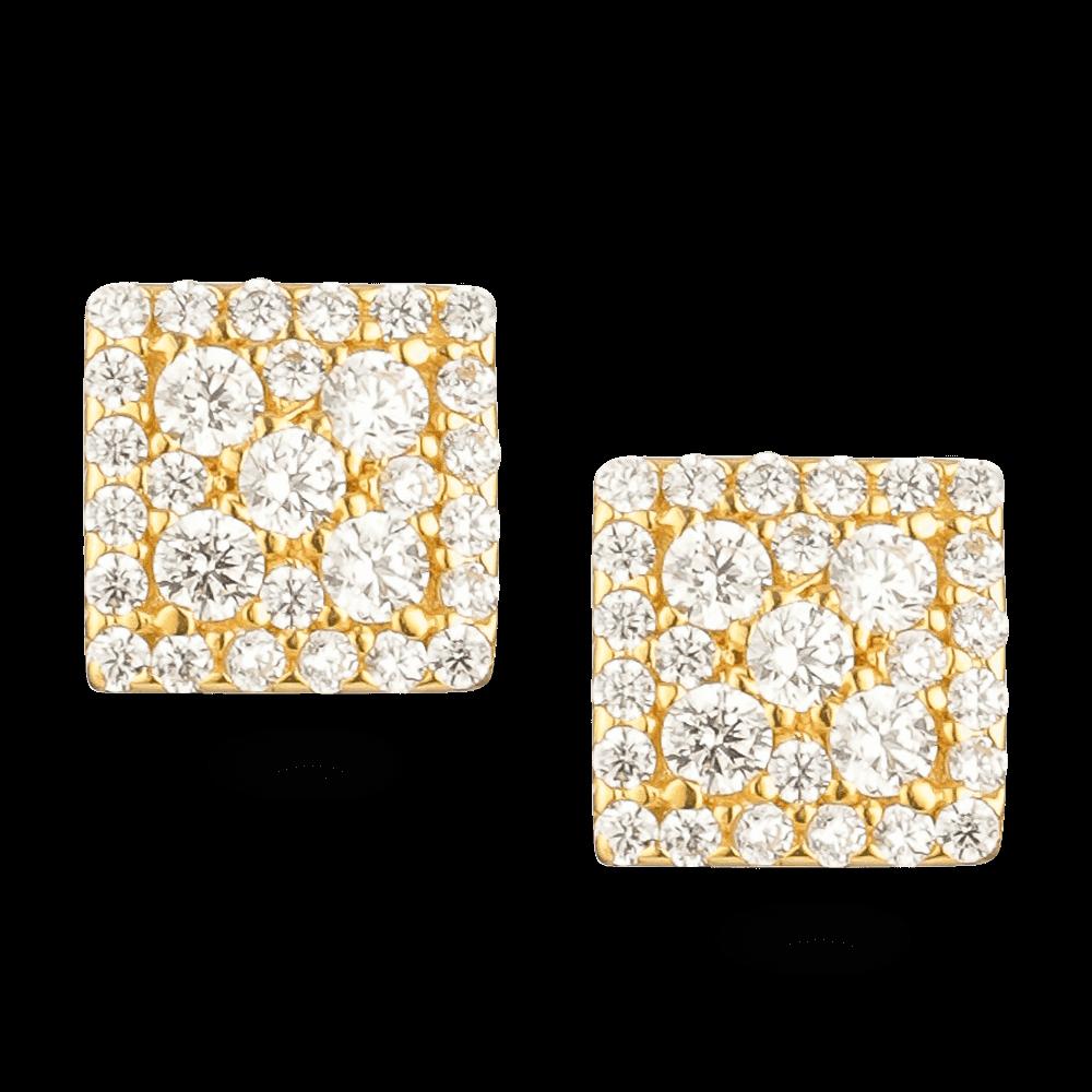 26300 - 22ct Gold Stud Earring