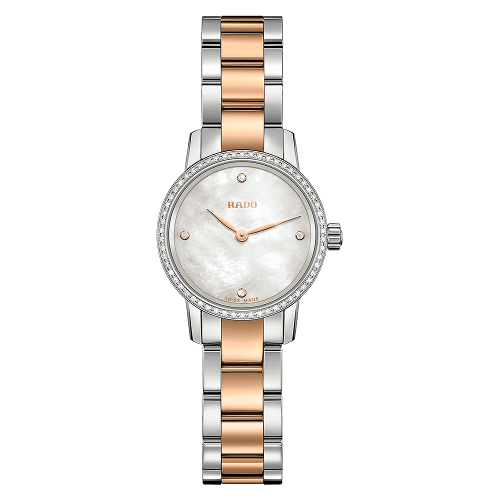 - Coupole Classic Diamonds Two Colour Ladies Watch