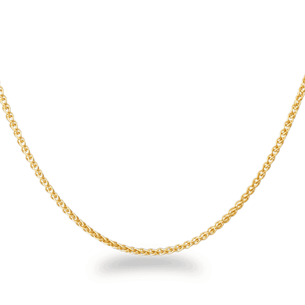 22586 - 22ct Gold Link Chain in 18 Inches
