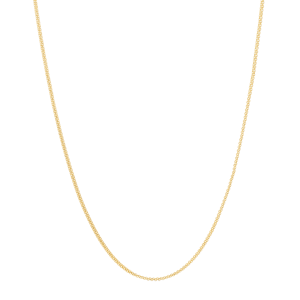 23510 - 16 Inches Link Chain in 22ct Yellow Gold