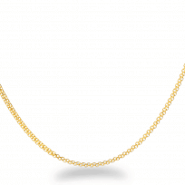 25953 - 18 Inches Flat Chain in 22ct Yellow Gold