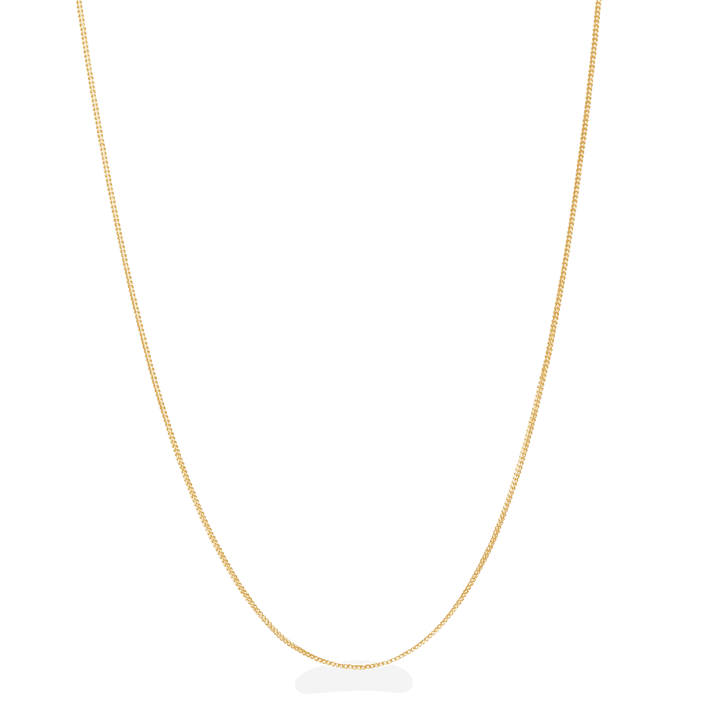 27517 - 22ct Gold Foxtail Chain in 16 Inches