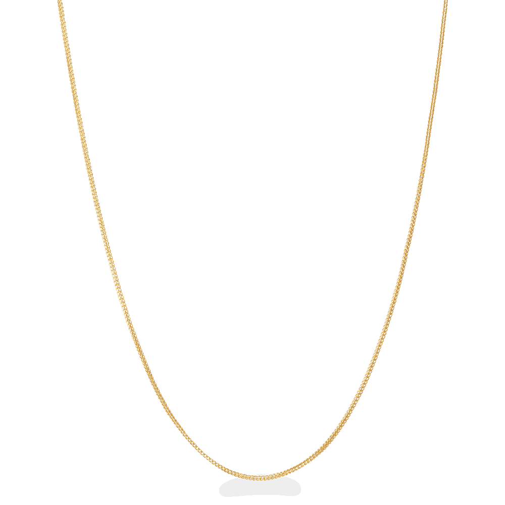 28426 - 22ct Gold Foxtail Chain in 18 Inches