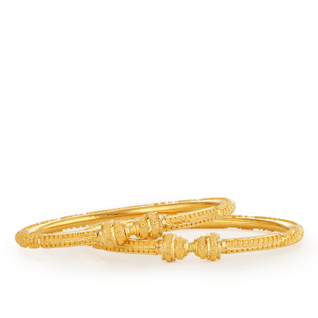 26686_26687 22ct gold bangles