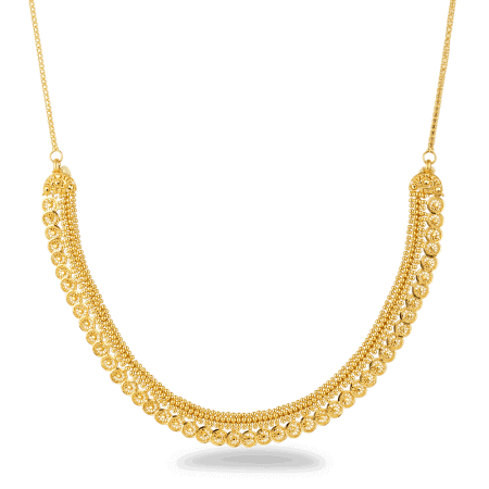 26873 22ct gold necklace