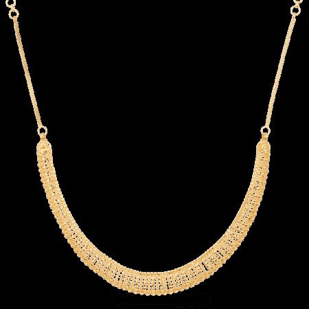 27162 - 22ct Gold Jali Filigree Necklace